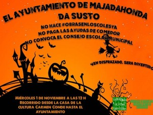 Cartel Marcha Hallowen